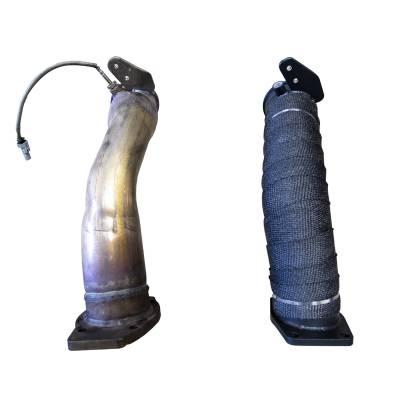 OEM Downpipe vs. WCF100129