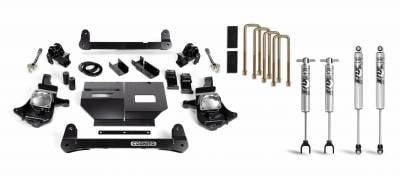 """2017-2020 L5P - Chassis and Suspension - Cognito Motorsports - 2011-2019 LML/L5P Duramax Cognito - 4"""" Standard Lift Kit"""