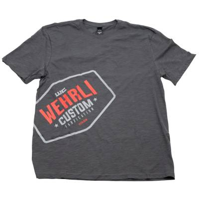 Wehrli Custom Fabrication - Men's T-Shirt- Front Logo - Image 3