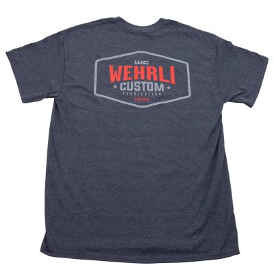 Apparel & Merchandise  - T-Shirts  - Wehrli Custom Fabrication - Men's T-Shirt- Back Logo
