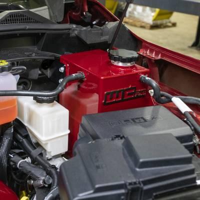 Wehrli Custom Fabrication - 2020+ L5P Duramax OEM Placement Coolant Tank Kit - Image 3