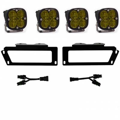 Baja Designs - 2010-2018 6.7L Cummins Baja Designs SAE Fog Pocket Kits