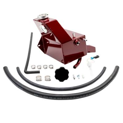 Wehrli Custom Fabrication - 2013-2018 6.7 Cummins OEM Placement Coolant Tank Kit