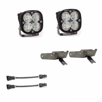 Baja Designs - 2003-2010 6.0L & 6.4L Power Stroke Baja Designs Fog Pocket Kit