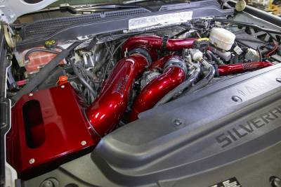 Wehrli Custom Fabrication - 2017-2019 L5P Duramax S400 Single Turbo Install Kit - Image 8