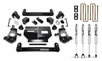 "2017+ L5P - Chassis and Suspension - Cognito Motorsports - 2020+ L5P Duramax Cognito - 4"" Standard Lift Kit"