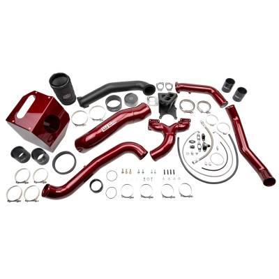 Wehrli Custom Fabrication - 2017-2019 L5P Duramax S400 Single Turbo Install Kit