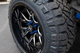 Truck Suspension Wheels & Tires Cover