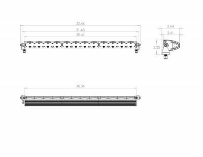 "Baja Designs - S8 LED Light Bar 30"" Universal Baja Designs - Image 7"