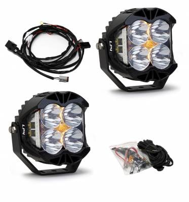 2017+ L5P - Exterior & Lighting - Baja Designs - LP4 Pro LED Light Universal Baja Designs (Pair)