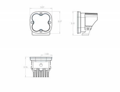 Baja Designs - Squadron Sport LED Light Universal Baja Designs (Pair) - Image 10