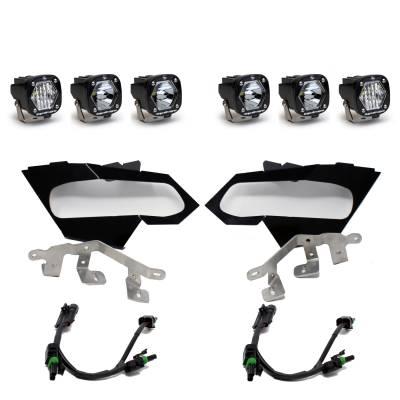 Can-Am Maverick X3 - Lighting - Baja Designs - Can-Am X3 Baja Designs LED Headlight Kit