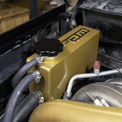 Wehrli Custom Fabrication - 2001-2007 LB7/LLY/LBZ Duramax Twin Turbo Coolant Tank Kit - Image 2