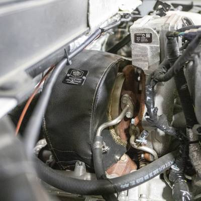Wehrli Custom Fabrication - 2017+ L5P Duramax VGT Turbo Heat Blanket - Image 3