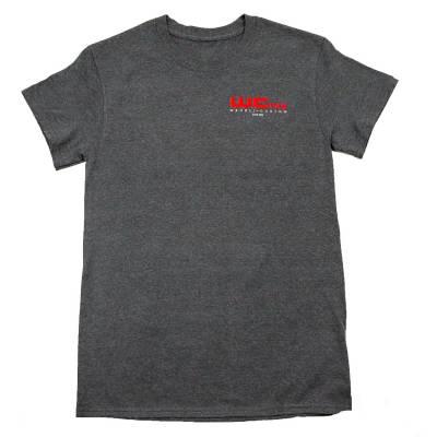Wehrli Custom Fabrication - Men's T-Shirt- 10 YearsDark Heather - Image 2