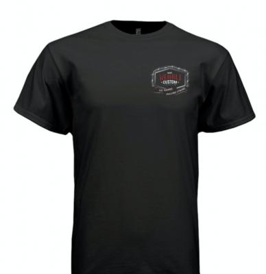 Wehrli Custom Fabrication - T-Shirt -WCFab 10th Anniversary Celebration Truck Pull - Black - Image 2