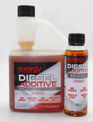 Fuel System - Fuel Additive - Exergy Performance - Exergy Performance Summer Diesel Fuel Additive