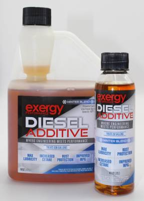 Fuel System - Fuel Additive - Exergy Performance - Exergy Performance Winter Diesel Fuel Additive