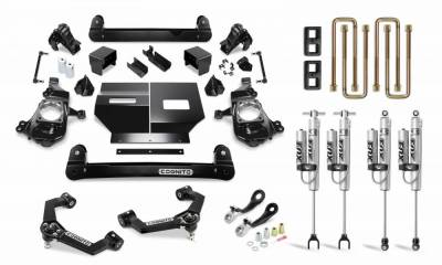 "2017+ L5P - Chassis and Suspension - Cognito Motorsports - 2020+ L5P Duramax Cognito - 4"" Performance Lift Kit"