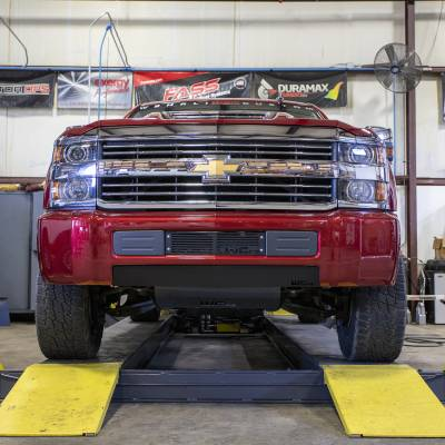 Wehrli Custom Fabrication - 2015-2019 Chevrolet Silverado 2500/3500HD Lower Valance Filler Panel without Tow Hook Cutouts - Image 2