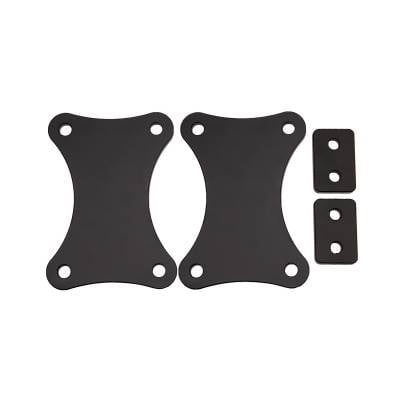 Wehrli Custom Fabrication - 2015-2019 GM 2500/3500HD Truck 3/8 in. Front Bumper Spacer Kit