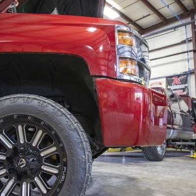 Wehrli Custom Fabrication - 2015-2019 GM 2500/3500HD Truck 3/4 in. Front Bumper Spacer Kit - Image 3