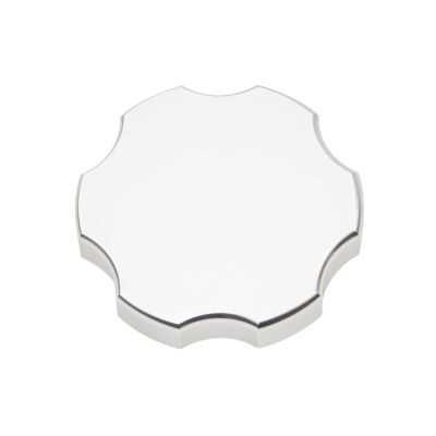 Wehrli Custom Fabrication - Billet Aluminum Coolant Tank Cap, Clear Anodized - Image 1
