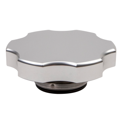 Wehrli Custom Fabrication - Billet Aluminum Coolant Tank Cap, Clear Anodized - Image 2