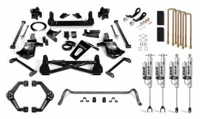 "2017+ L5P - Chassis and Suspension - Cognito Motorsports - 2011-2019 LML/L5P Duramax Cognito - 7"" Performance Lift Kit"