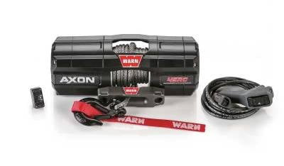 Side By Side (SXS / UTV) Parts - Polaris RZR Pro - Warn Industries - WARN AXON 45RC POWERSPORT WINCH, 27ft. SYNTHETIC ROPE