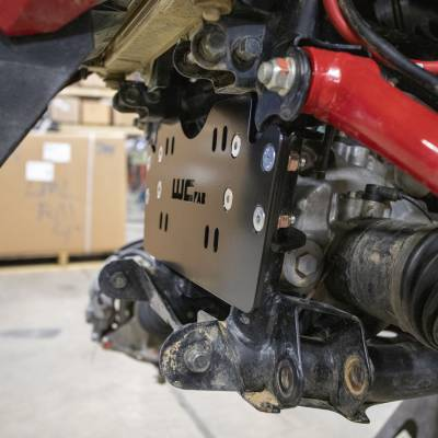Wehrli Custom Fabrication - 2019+ Honda Talon X/R Winch Mount Plate Kit For WCFab Bumper - Image 3