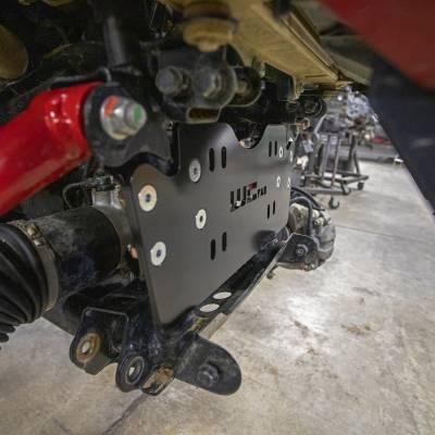 Wehrli Custom Fabrication - 2019+ Honda Talon X/R Winch Mount Plate Kit For WCFab Bumper - Image 2