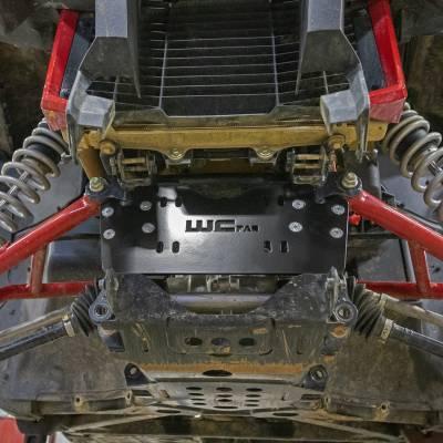 Wehrli Custom Fabrication - 2019+ Honda Talon X/R Winch Mount Plate Kit For WCFab Bumper - Image 4