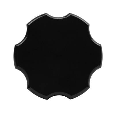 Wehrli Custom Fabrication - 2001-2021 Duramax Billet Aluminum Oil Fill Cap, Black Anodized