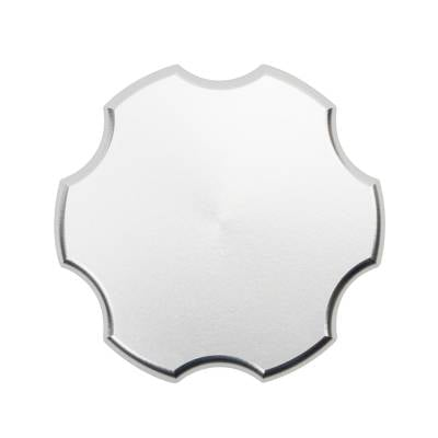 Wehrli Custom Fabrication - 2001-2021 Duramax Billet Aluminum Oil Fill Cap, Clear Anodized