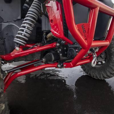 Wehrli Custom Fabrication - 2019+ Honda Talon X/R Winch Mount Plate Kit For WCFab Bumper - Image 7