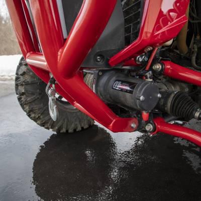 Wehrli Custom Fabrication - 2019+ Honda Talon X/R Winch Mount Plate Kit For WCFab Bumper - Image 9