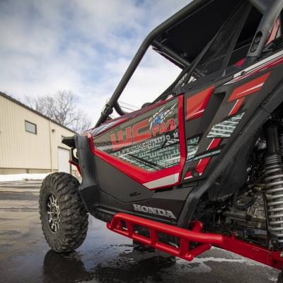Wehrli Custom Fabrication - 2019+ Honda Talon X/R Lower Front Door Kit - Image 9