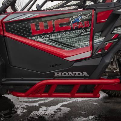 Wehrli Custom Fabrication - 2019+ Honda Talon X/R 2 Seat Rock Sliders - Image 12