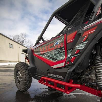Wehrli Custom Fabrication - 2019+ Honda Talon X/R 2 Seat Rock Sliders - Image 16