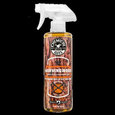 Detailing Supplies - Interior - Chemical Guys - Chemical Guys Morning Wood Sandalwood Air Freshener 16 oz Spray Bottle