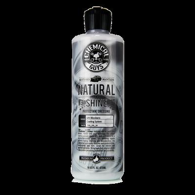 Detailing Supplies - Interior - Chemical Guys - Chemical Guys Natural Shine New Look Shine Plastic, Rubber, Vinyl Dressing, 16 fl oz