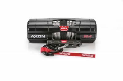 Warn Industries - WARN AXON 55-S POWERSPORT WINCH, 50ft. SYNTHETIC ROPE - Image 2