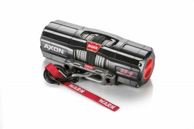 Warn Industries - WARN AXON 55-S POWERSPORT WINCH, 50ft. SYNTHETIC ROPE - Image 3