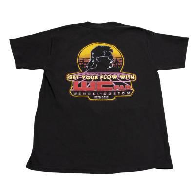 Men's T-Shirt - Get Your Flow Black