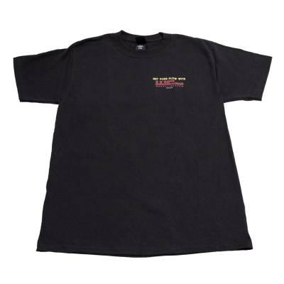 Wehrli Custom Fabrication - Men's T-Shirt - Get Your Flow Black - Image 2