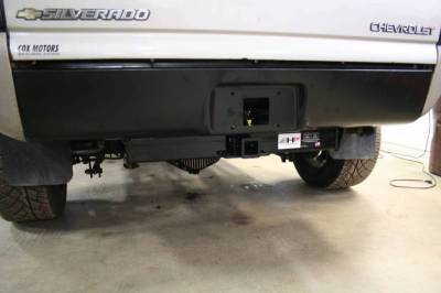 Big Hitch Products - BHP 01-07 GM BELOW Roll Pan 2 inch Receiver Hitch - Image 4