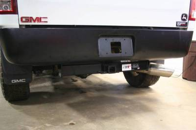 Big Hitch Products - BHP 07.5-14 GM Short Box BELOW Roll Pan 2 inch Receiver Hitch - Image 3