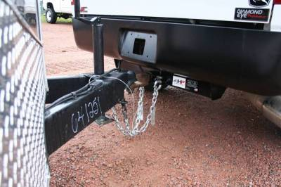 Big Hitch Products - BHP 07.5-14 GM Short Box BELOW Roll Pan 2 inch Receiver Hitch - Image 4