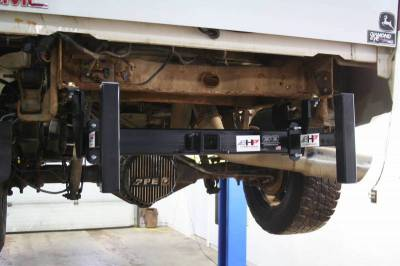Big Hitch Products - BHP Clamp On Sled Stops - BELOW Roll Pan - Image 2
